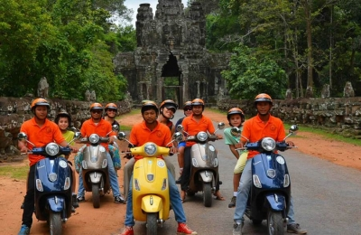 COUNTRYSIDE LIFE TOUR - VESPA TOURS (RUNS DAILY - 8:00AM – 3:00PM) - JOIN IN