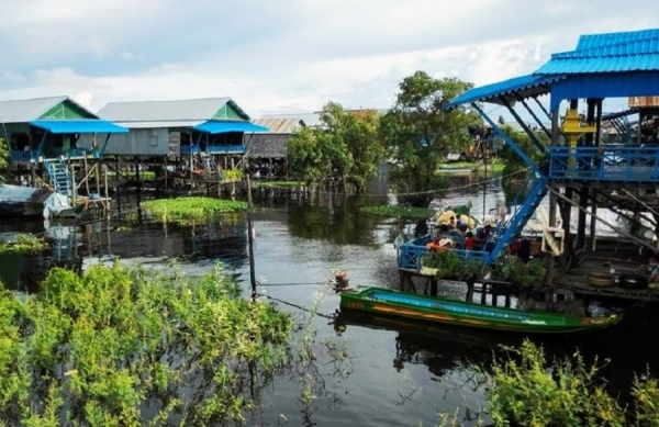 HALF DAY TOUR – KAMPONG KHLEANG -TONLE SAP (AM: 08.00 - 12.30h. or PM:13.00 - 17.30h)